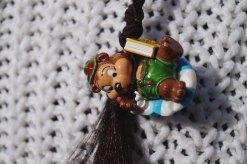 Scrunchy decoration: Kinder Egg