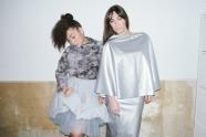JULIA: Pullover: Inna   Skirt: Risk   ALBINA: Skirts: Inna   available at Rauch Groen Slow Fashion Berlin