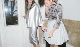 ALBINA: Skirts: Inna   JULIA: Pullover: Inna   Skirt: Risk   available at Rauch und Groen Slow Fashion Berlin