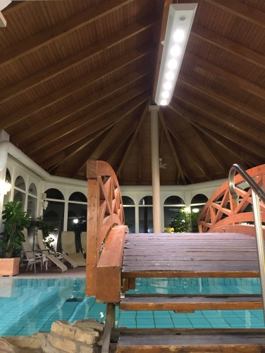 Der Wellnessbereich des Weissenhäuser Strandhotels