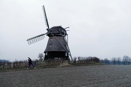 Eine wunderschöne Windmühle